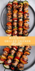 The Best Grilled Chicken Marinade - Girl With The Iron Cast